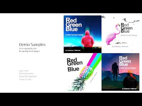 How to create Music Album Cover Art with Adobe Photoshop in 5 mins