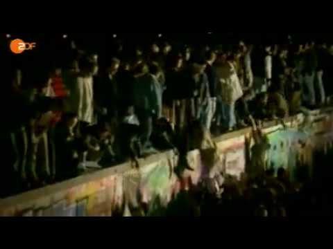 Fall der Berliner Mauer am 9. November 1989