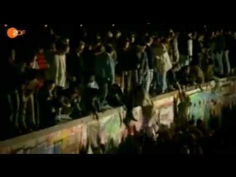 Fall der Berliner Mauer am 9. November 1989 - YouTube