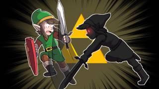 Speed Drawing: Link Vs Dark Link