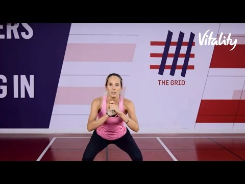 7 Minute HIIT Bum Workout | Vitality UK