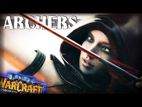 Warcraft 3 Frozen Throne - Карта Ashenvale Archers v.074! [ХИТРЫЙ ЛУК]