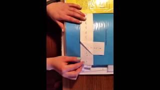 Уроки шитья Копировальный стежок (как шить)