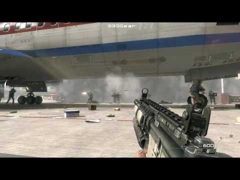 Killing in russia Airport call of duty