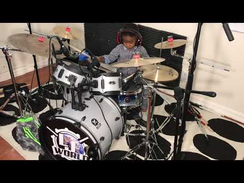 LJ playing Work It Out by Tye Tribbett