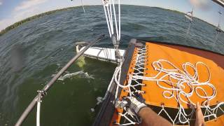 How to Tack the Hobie 16