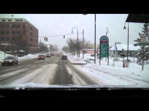 Driving winter weather Burlington, VT