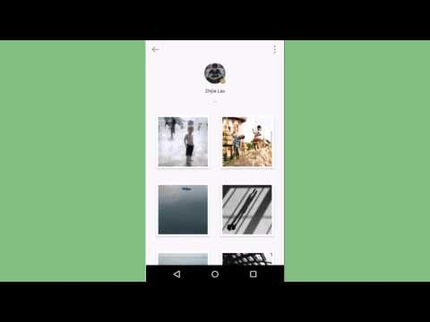 【Android】'Follow' your favorite photographer and share the inspiration