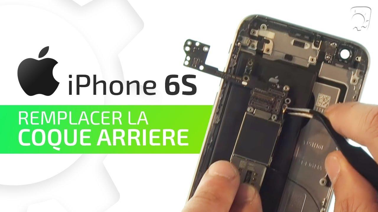 changer la coque arriere iphone 6