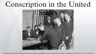 Conscription in the United States