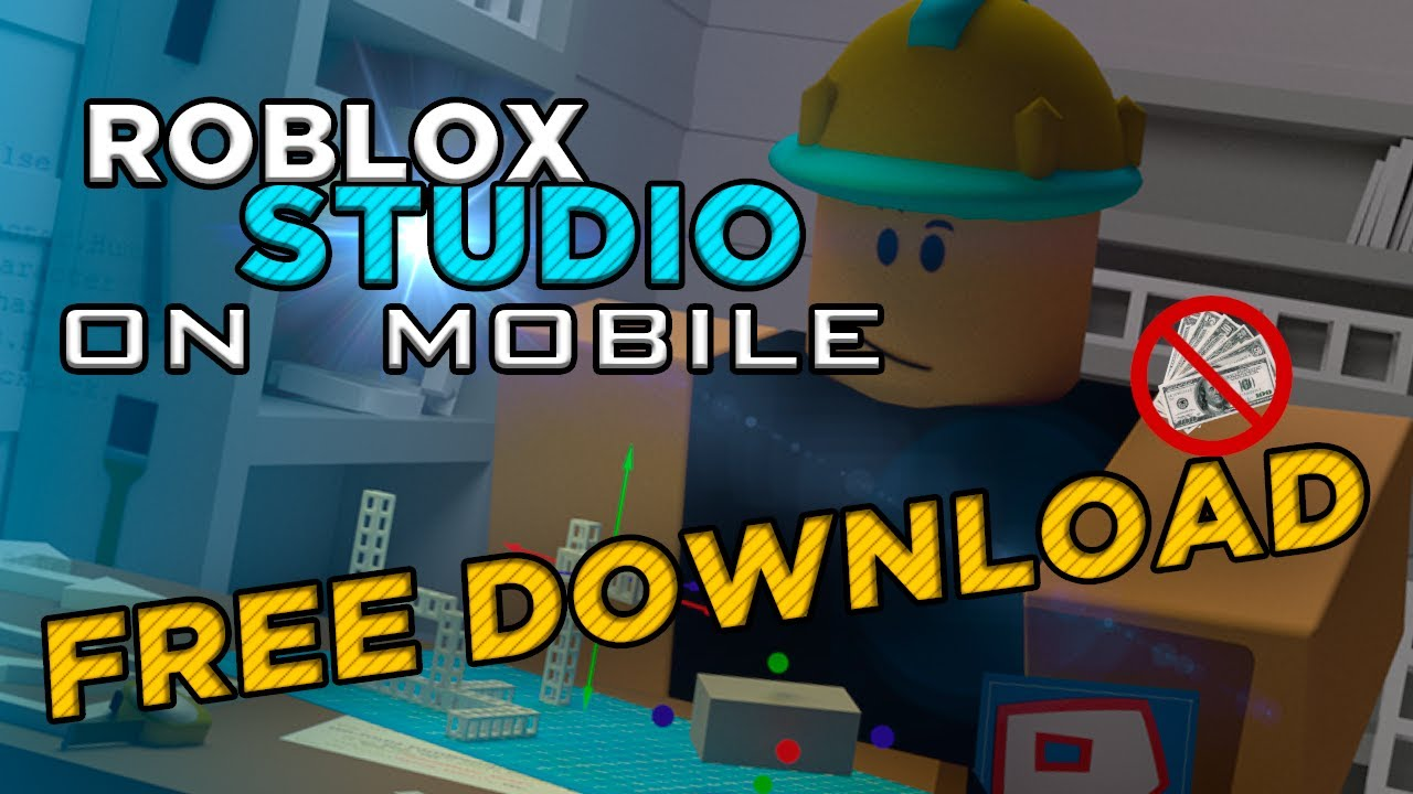 HOW TO DOWNLOAD ROBLOX STUDIO ON MOBILE 2020 YouTube