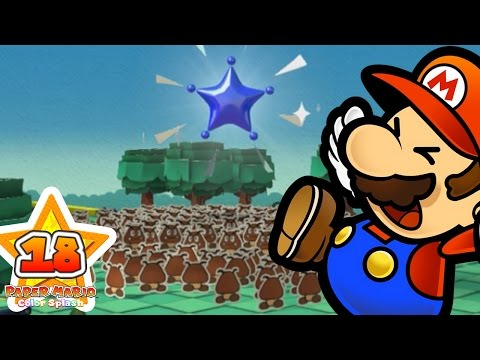 PAPER MARIO COLOR SPLASH FR #18 - L'invasion des MINIS !