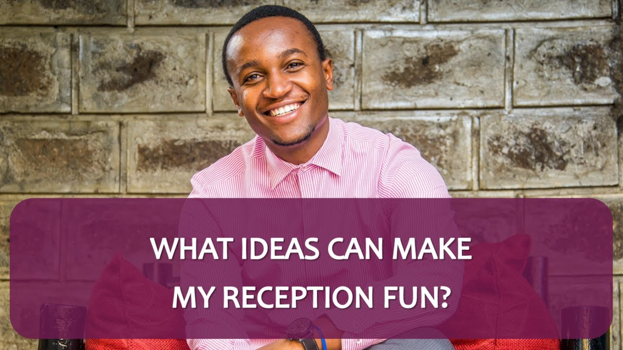 What Ideas Can Make My Reception Fun? - Ask The Wedding MC ...