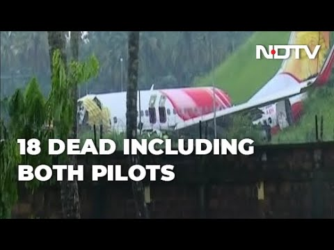 Air India Express plane skids off runway in heavy rains, killing 18 ...