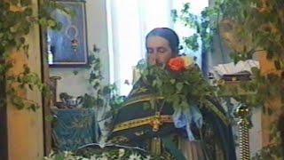 Праздник Троицы в Святогорском монастыре 30.5.99 г.