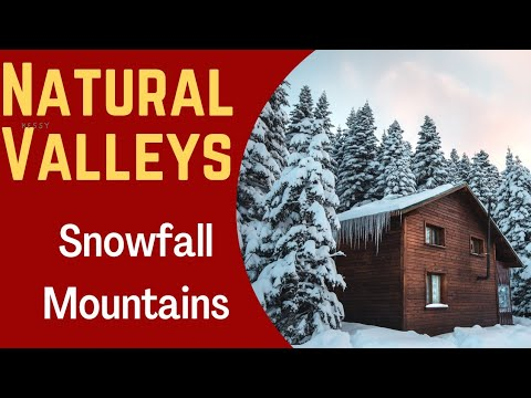Snowfall mountains#Houses on mountains#Switzerland beautiful places#Natural Valleys#Heavy snowfall