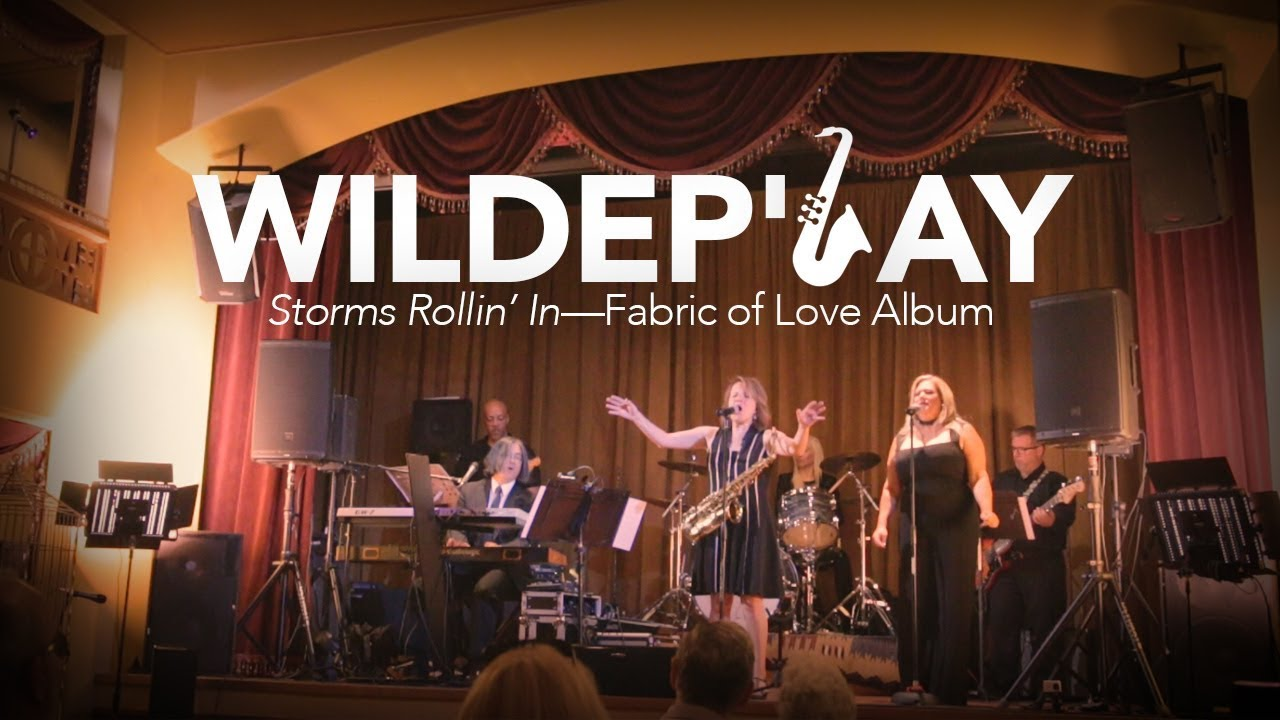 Jazz, pop, and eclectic Phoenix music band—WildeP'lay in concert—Storms Rollin' In