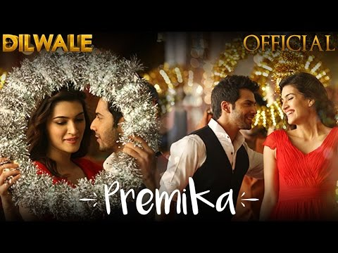 Premika| Lyrics| Dilwale| Songs| Varun Dhawan|Kriti Sanon|| Remix| Unknown Bollywood