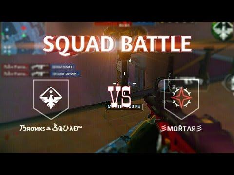 MC5 SQUAD BATTLE  VS MORTAR