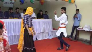 पीली लूगड़ी डांस || Peeli Lugdi || Meena Hostel Jaipur || Fresher Party 2018 || Peeli lugdi Dance