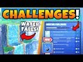 Fortnite Waterfall Locations New Overtime Challenges Guide Battle Royale Update Mp3