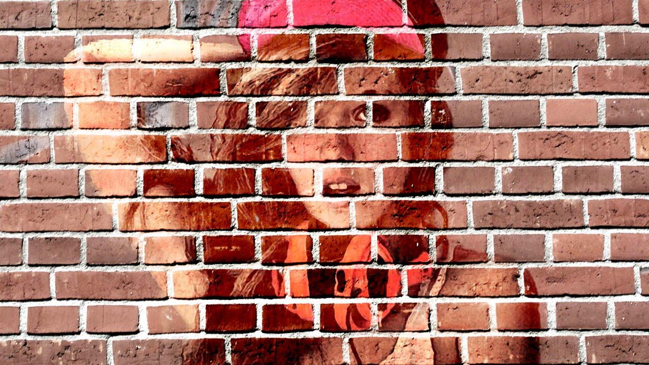 photoshop: pinta una imagen en una pared tutorial - youtube
