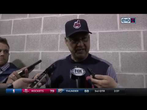 Terry Francona's postgame press conference after Indians shut out White Sox