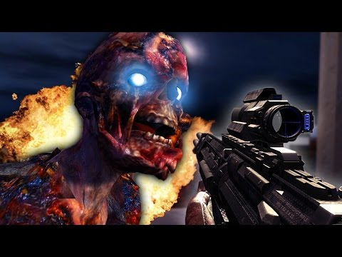"""HUGE EASTER EGG & AKIMBO CEL 3!"" - Call of Duty Zombies ""OIL RIG"" Custom Map #4"