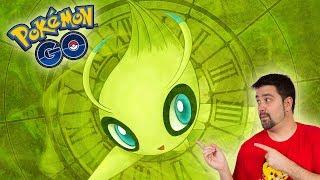 ¡ESPECTACULAR CELEBI! PROBANDO el NUEVO POKÉMON MÍTICO de Pokémon GO!!! [Keibron]