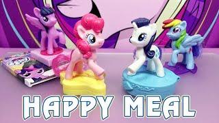Все фигурки Май Литл Пони в Хэппи Мил 2017 (My Little Pony - Happy Meal)