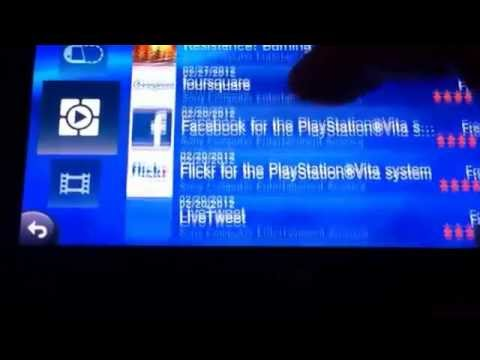 How to download apps on your Ps Vita
