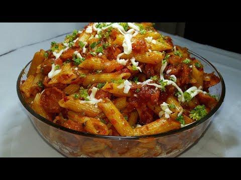 Chicken sausage pasta | pasta recipe | how to make sausage pasta
