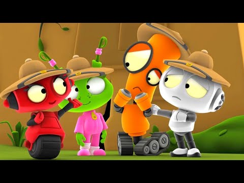 Explore The Ruins   Rob The Robot   Toddler Learning Video