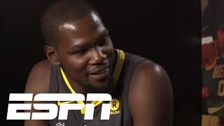 Kevin Durant says Steph Curry and him were never in a bad place ESPN