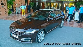2017 volvo v90 d5 first drive