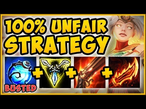 NEW LEVEL SKIP KAYLE STRATEGY FASTEST WAY TO LVL 16 NEW KAYLE TOP GAMEPLAY - League of Legends