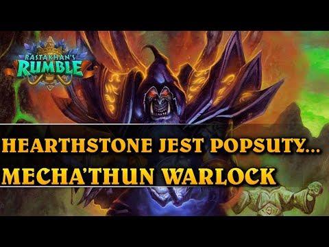 HEARTHSTONE JEST POPSUTY... - MECHA'THUN WARLOCK - Hearthstone Decks (Rastakhan's Rumble)