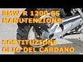 Cambio olio cardano BMW R1200GS