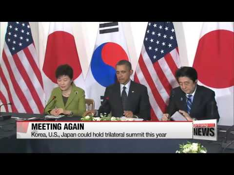 Korea, U.S., Japan could hold trilateral summit in March