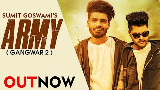 Here is the original credit goes to. army (gangwar 2) new most popular haryanvi songs haryanavi 2019. starring with sumit goswami , shanky and song i...