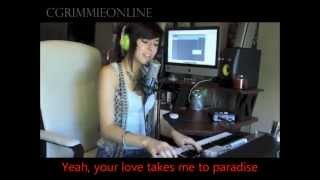 Locked out of Heaven (BrunoMars) - Christina Grimmie - LYRICS - MP3 download link