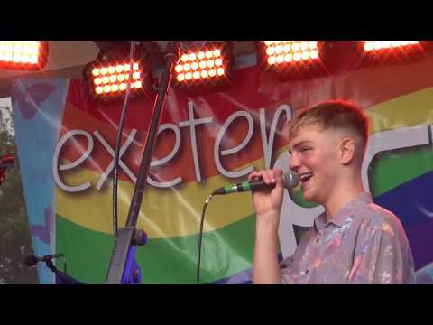 Gay Pride Exeter 12 May 2018 Part 4. Festival Music At the Phoenix. Drag Queens