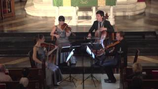 Attacca Quartet plays Haydn Op. 33 no. 5 -- Third Movement
