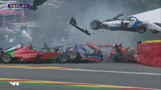 Top 20 Motorsports Crash in August 2021