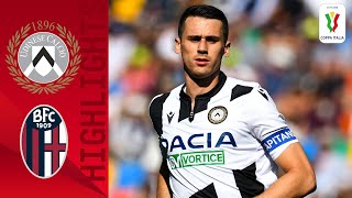 Udinese 4 0 Bologna Udinese in Fine Form During 4 Goal Victory Round 4 Coppa Italia