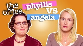 Phyllis Vs Angela  - The Office US