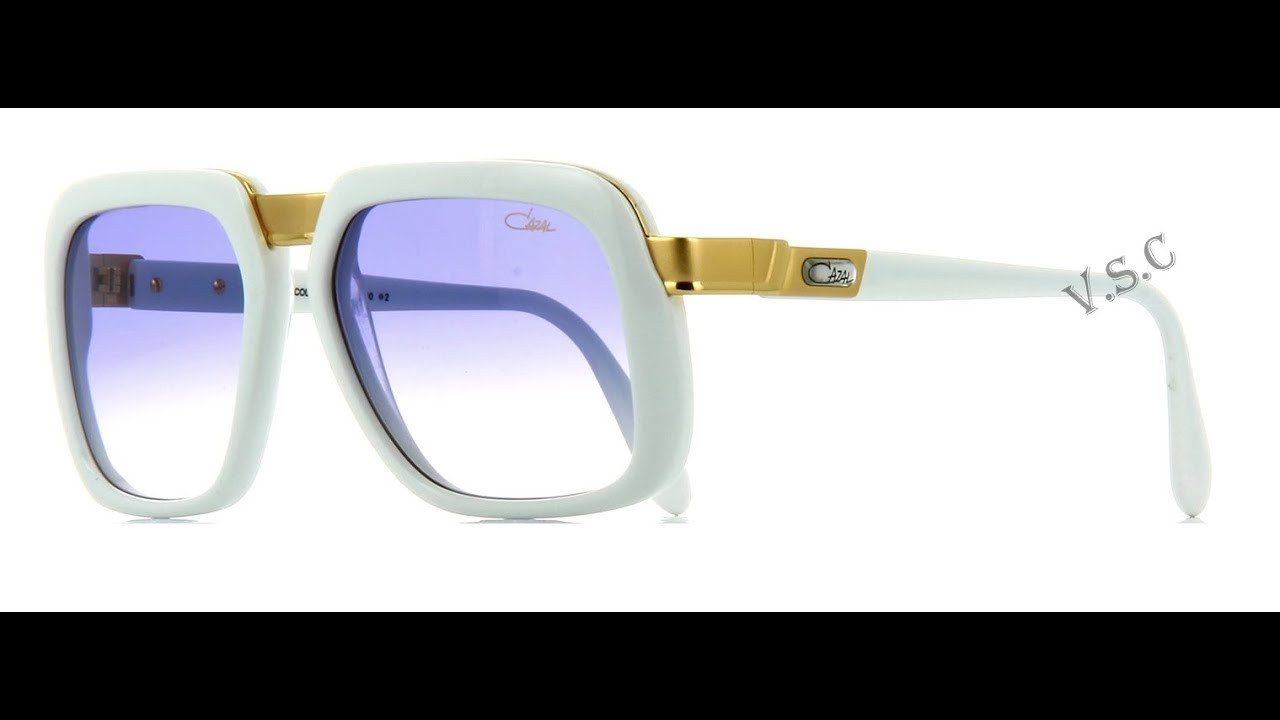 5d8fd61769fe Cazal sunglasses white youtube jpg 1280x720 Cazal 616 worn