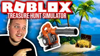 THE GOAL IS TO GET THE VACUUM CLEANER! 🏖🤑:: Treasure Hunt Simulator Ep. 2-English Roblox