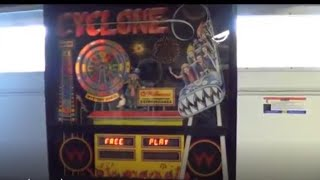 Game | CYCLONE PINBALL MACHINE BY WILLIAMS | CYCLONE PINBALL MACHINE BY WILLIAMS