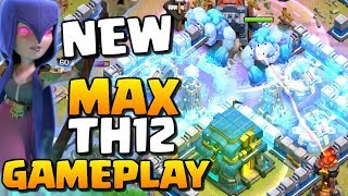 New MAX TH12 Gameplay - Clash of Clans Town Hall 12 Attacks | New Troop Levels!